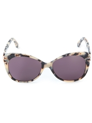 Roland Mouret 'Zeppo' Sunglasses Nude And Neutrals