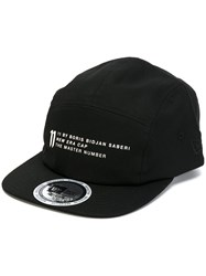 11 By Boris Bidjan Saberi 5 Panel Cap Cotton Black a883a772e88