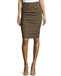Escada Rendel Pencil Skirt Camel