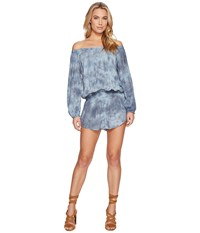 Blue Life Sol Slouchy Romper Sage Gray Women's Jumpsuit And Rompers One Piece