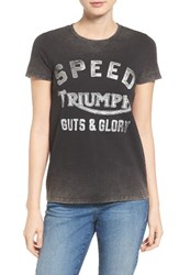 Lucky Brand Women's Washed Triumph Graphic Tee