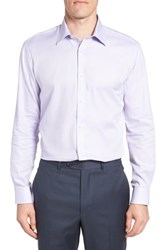 Ted Baker London Ollyox Slim Fit Solid Dress Shirt Lilac