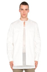 Stampd X Revolve Safari Jungle Button Down White