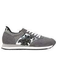 Guild Prime Studded Retro Sneakers Grey