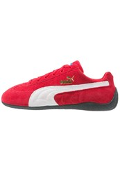 Puma Speed Cat Trainers Ribbon Red White