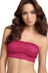 Free People Lace Bandeau Pink