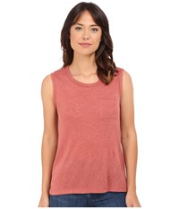 Culture Phit Maika Muscle Tee Maroon Women's T Shirt Red