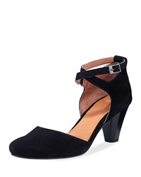 Gentle Souls Raven Comfort D'orsay Pumps Black