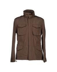Montecore Coats And Jackets Jackets Men Dark Brown
