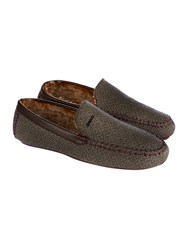 Ted Baker Men's Morriss Moccasin Slippers Grey