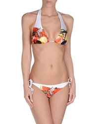Just Cavalli Beachwear Bikinis White
