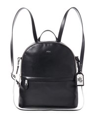 Lauren Ralph Lauren Tami Leather Backpack Black