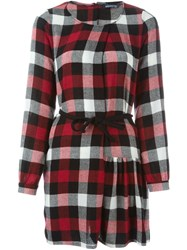 Woolrich Tartan Flared Dress