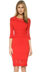 Ohne Titel Cable Pointelle Dress Red
