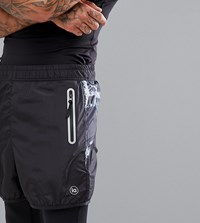 Influence Performnce Shorts Black
