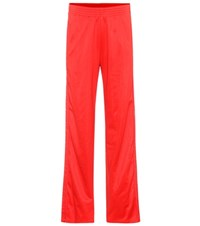 Givenchy Embellished Jersey Trousers Red