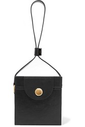 Hillier Bartley Leather Clutch Black