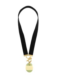 Marni Resin Pendant Necklace Black