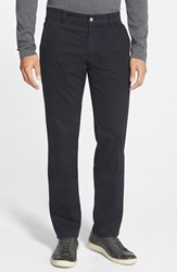 Ag Jeans Men's 'The Lux' Tailored Straight Leg Chinos Navy