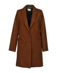 Vicolo Coats Brown