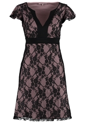Anna Field Cocktail Dress Party Dress Rose Black