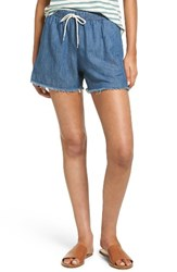 Madewell Women's Chambray Pull On Shorts