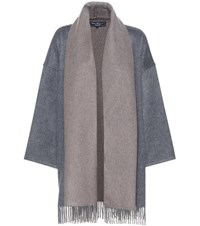 Salvatore Ferragamo Cashmere Jacket Grey