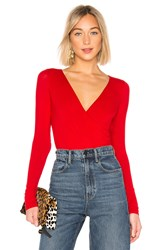 Bailey 44 Love To Love You Baby Bodysuit Red