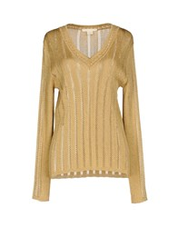 Antonio Berardi Sweaters Gold