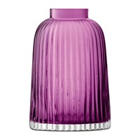 Lsa International Pleat Vase Heather Purple