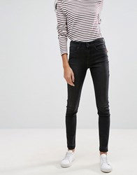 Pieces Five Abby Skinny Jeans Black