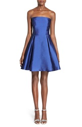 Soloiste Bow Back Fit And Flare Dress Royal Blue