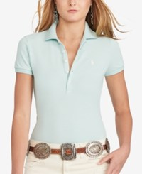 Polo Ralph Lauren Skinny Stretch Shirt Foster Green
