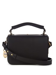 Sophie Hulme Finsbury Leather Cross Body Bag Black