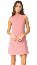 Alice Olivia Coley A Line Dress Dusty Rose
