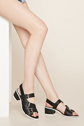 Forever 21 Eeight Lima Buckled Sandals