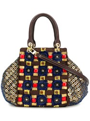 Jamin Puech Perret Tote Bag Brown