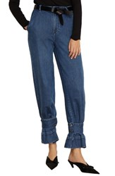 Habitual Veda High Waist Convertible Jeans Pine