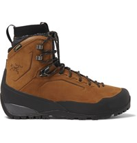 Arc'teryx Bora Gtx Waterproof Nubuck Hiking Boots Brown