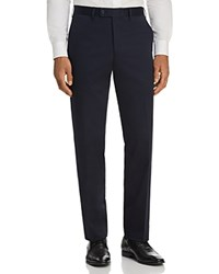 Bloomingdale's The Men's Store At Classic Fit Stretch Cotton Dress Pants 100 Exclusive Dark Navy