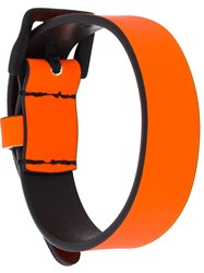 Dsquared2 Adjustable Belt Yellow And Orange