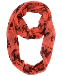Forever Collectibles Miami Marlins All Over Logo Infinity Scarf