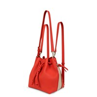 Esin Akan Mini Notting Hill Poppy And Sand Red
