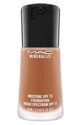 M A C Mac 'Mineralize' Moisture Foundation Broad Spectrum Spf 15 1 Oz Nw 35