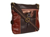 The Sak Kendra Leather Crossbody Teak Multi Cross Body Handbags Brown