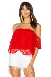 Vava By Joy Han Laia Top Red