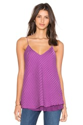 Rta Madeline Reversible Cami Purple