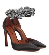 Altuzarra George Satin Pumps Black