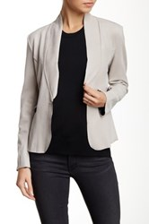Luma Faux Suede Jacket Gray