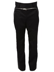 Juun.J Zip Off Panel Trousers Black